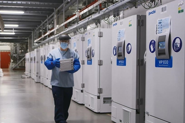 Mỹ có nguy cơ cháy hàng tủ đông siêu lạnh để bảo quản vaccine Covid-19 - Ảnh 1.
