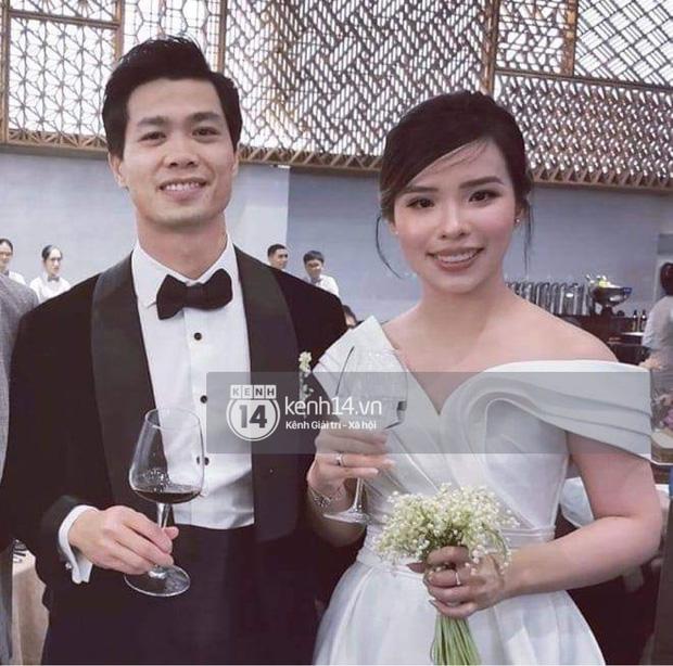 Toàn cảnh siêu đám cưới của Công Phượng - Viên Minh: Cái kết trọn vẹn cho mối tình cầu thủ nổi tiếng và tiểu thư gia thế khủng - Ảnh 7.
