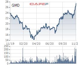Gemadept tăng mạnh, VI Fund II muốn bán hết gần 43 triệu cổ phiếu - Ảnh 1.