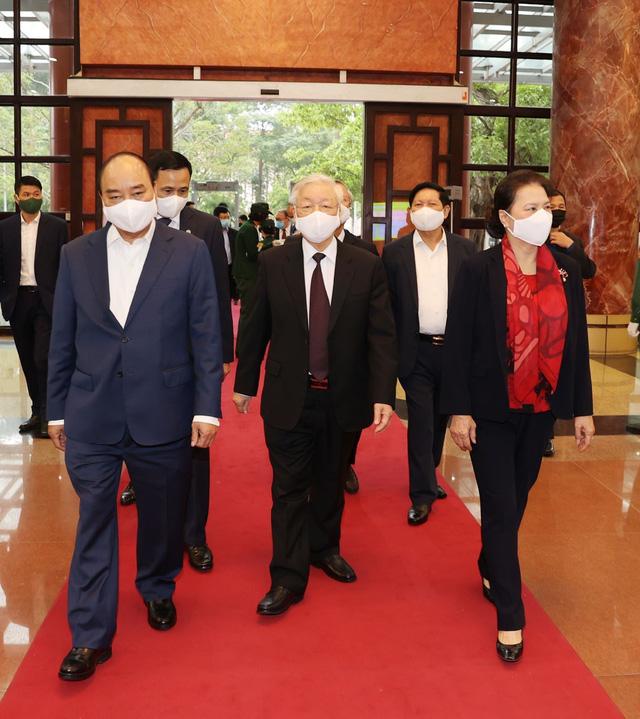 Tổng Bí thư, Chủ tịch nước chủ trì Hội nghị tổng kết công tác tổ chức Đại hội đảng bộ các cấp - Ảnh 1.
