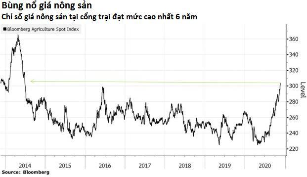 Giá dầu cọ lập đỉnh 8 năm, đậu tương cao nhất 6 năm - Ảnh 2.