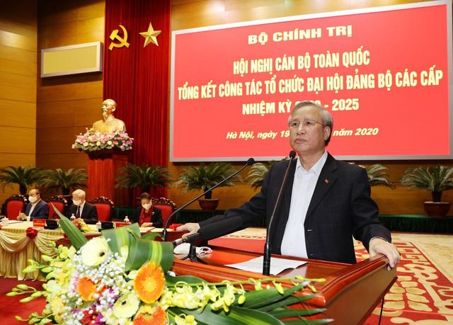 Tổng Bí thư, Chủ tịch nước chủ trì Hội nghị tổng kết công tác tổ chức Đại hội đảng bộ các cấp - Ảnh 3.