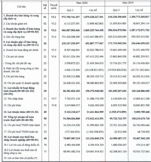Mảng bất động sản kinh doanh thuận lợi, DIC Corp (DIG) báo lãi quý 3 tăng 19% so với cùng kỳ - Ảnh 1.