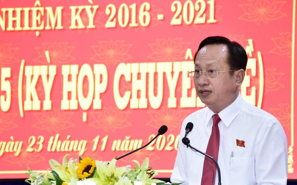 Ông Phạm Văn Thiều được bầu làm Chủ tịch UBND tỉnh Bạc Liêu