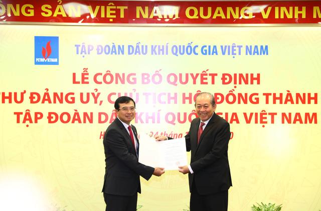 Phó Thủ tướng Thường trực trao quyết định bổ nhiệm Chủ tịch Tập đoàn Dầu khí - Ảnh 1.