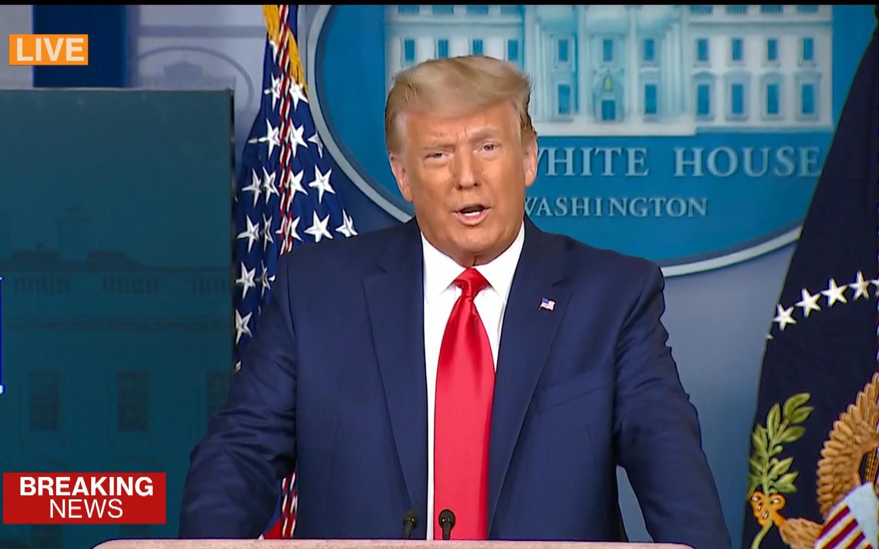 Ông Trump tuyên bố Dow Jones lập kỷ lục là nhờ ông chịu chuyển giao quyền lực cho ông Biden