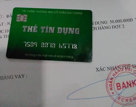 Cảnh báo thủ đoạn mới lừa đảo mở thẻ tín dụng giả - Ảnh 1.