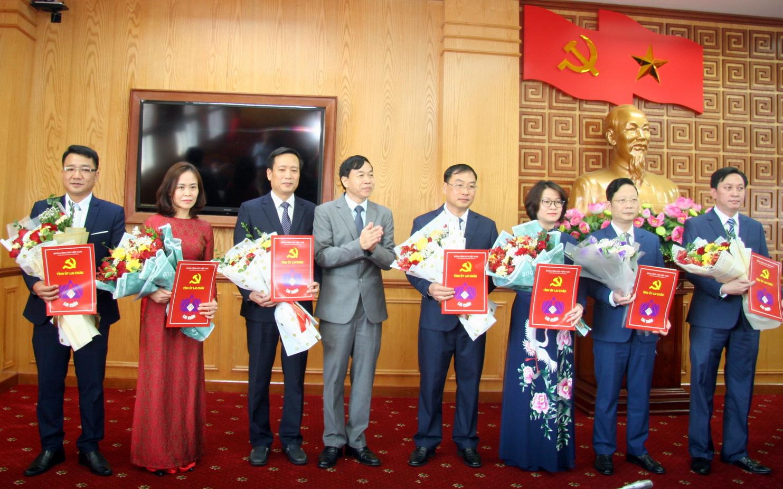 Tỉnh ủy Lai Châu điều động, bổ nhiệm nhiều lãnh đạo chủ chốt