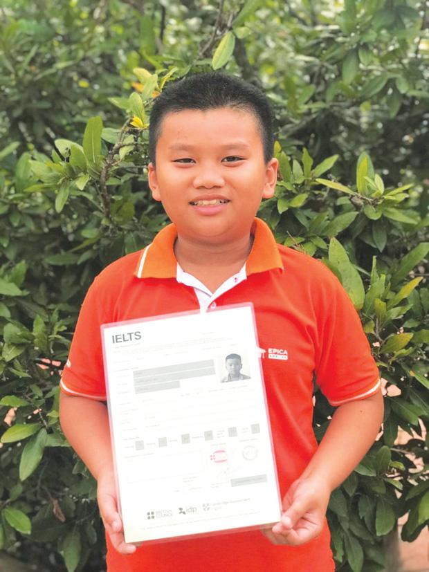 Thần đồng 10 tuổi đạt 7.0 IELTS: Tự học tiếng Anh từ 2 tuổi, bị Hội đồng từ chối vì nhỏ quá nhưng liều lĩnh gọi điện xin được thi - Ảnh 3.