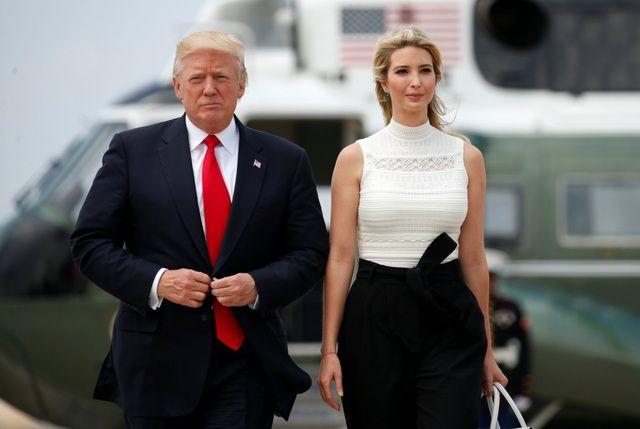 Con gái của Donald Trump: Tốt nghiệp đại học danh tiếng, giàu nứt đố đổ vách nhưng cả đời không dám làm điều này vì bố cấm - Ảnh 1.