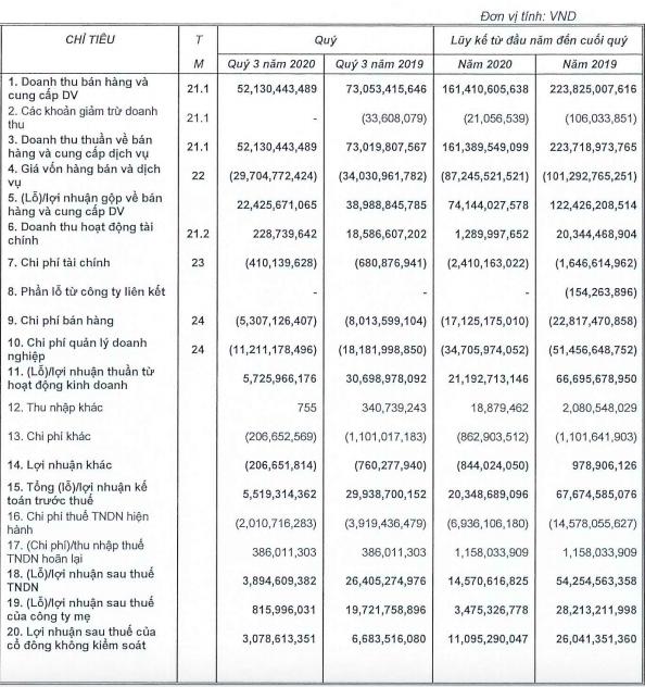 Bất động sản Ninh Vân Bay (NVT): Quý 3 tiếp tục sụt giảm mạnh, lợi nhuận 9 tháng giảm 74% xuống còn 14,5 tỷ đồng - Ảnh 1.