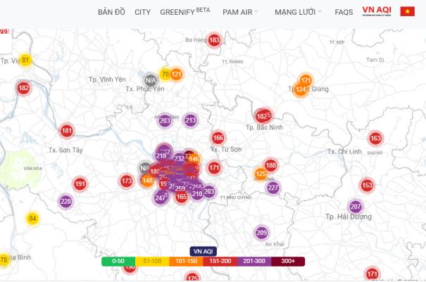 Nhiều ngày tới sẽ ô nhiễm không khí rất hại cho sức khỏe - Ảnh 3.