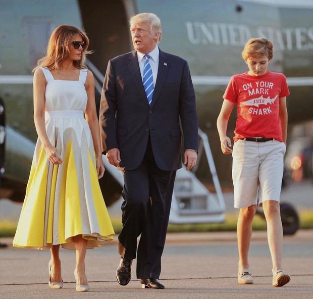 Từ cậu bé đầu tiên chuyển đến sống ở Nhà Trắng, trong 4 năm nhiệm kỳ của bố, Barron Trump đã thu hút sự chú ý của thế giới như thế nào? - Ảnh 5.