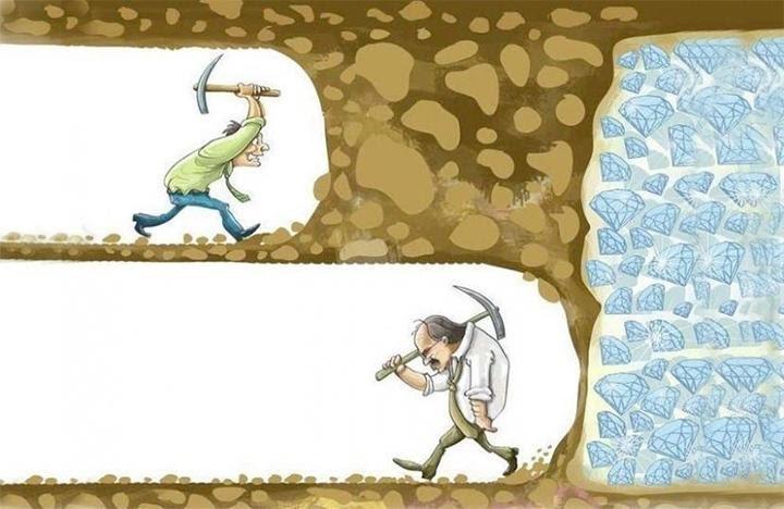 Không có mục tiêu dài hạn, chúng ta chỉ là kẻ lang thang không mục đích trong suốt cuộc đời: Thành công không phải may mắn rơi, bạn phải trả giá bằng nỗ lực không ngừng - Ảnh 2.