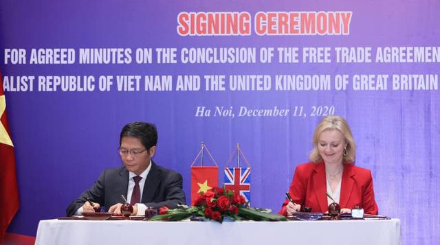 Việt Nam - Vương quốc Anh kết thúc đàm phán hiệp định thương mại song phương - Ảnh 1.