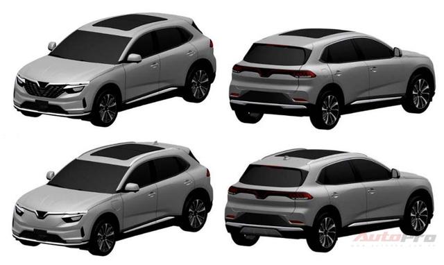 Lộ thiết kế chi tiết xe VinFast mới vừa chạy thử tại Việt Nam: SUV to ngang Honda CR-V, 2 tùy chọn động cơ xăng và điện - Ảnh 6.