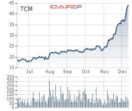 Dệt may Thành Công (TCM): Lợi nhuận 11 tháng vượt 26% kế hoạch năm với 233 tỷ đồng, cổ phiếu liên tục phá đỉnh - Ảnh 2.