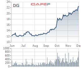 DIG thỏa thuận đột biến 42,5% lượng cổ phiếu lưu hành của công ty trong sáng 2/12 - Ảnh 1.