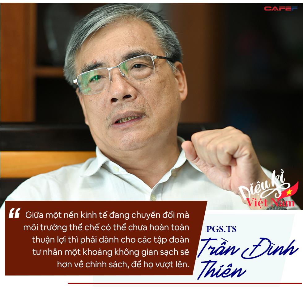 PGS.TS Trần Đình Thiên: Phải coi Vingroup, Thaco… là những tập đoàn lãnh sứ mệnh quốc gia chứ không chỉ tài sản riêng của ông nọ, ông kia! - Ảnh 12.