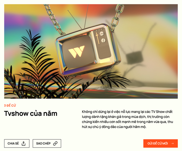 WeChoice Awards 2020 chính thức bước vào giai đoạn độc giả đề cử: Bạn đã sẵn sàng đồng hành cùng chúng tôi trên hành trình lan tỏa những niềm cảm hứng? - Ảnh 7.