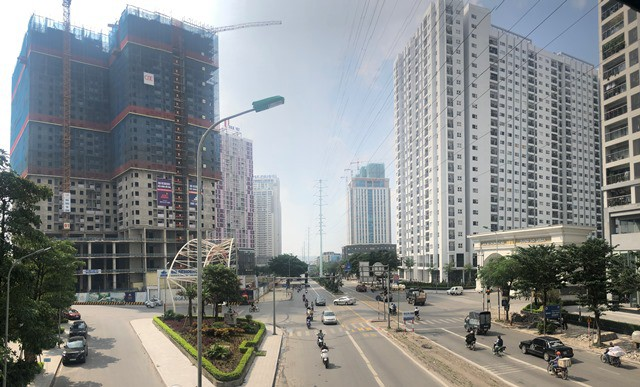 Cận cảnh cao ốc nhấn chìm con đường BT Hà Nội - Ảnh 12.