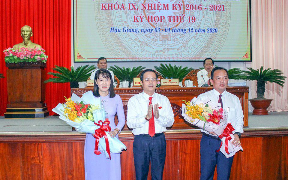 Hậu Giang có 2 tân Phó Chủ tịch UBND tỉnh