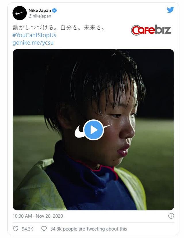 Video quảng cáo 16,3 triệu lượt xem của Nike Nhật Bản vừa tạo ra một thảm họa: 50.000 lượt 'dislike', bị xem như tội đồ, vướng làn sóng tẩy chay trên diện rộng - Ảnh 1.