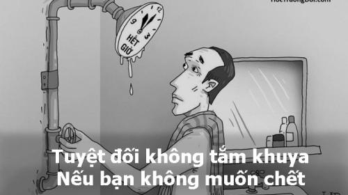 Thêm một trường hợp thanh niên 23 tuổi tử vong do tắm đêm: Những cấm kị khi tắm để tránh nguy hiểm tính mạng - Ảnh 1.