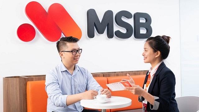 Lãi 6 tháng MSB tăng 72% nhờ chứng khoán - Ảnh 1.