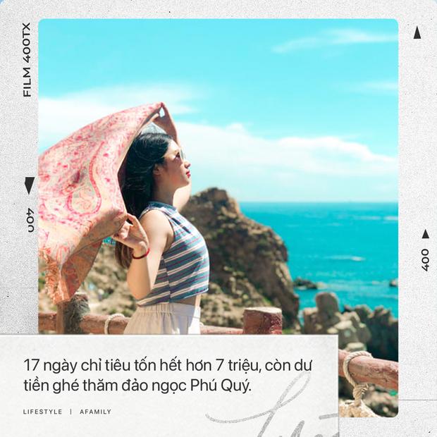 Cô nàng độc thân 26 tuổi lần đầu đi xuyên Việt bằng xe máy với 7 triệu và 17 ngày: Cả tuổi trẻ dành để đi bụi, sống không dũng cảm uổng phí thanh xuân! - Ảnh 1.
