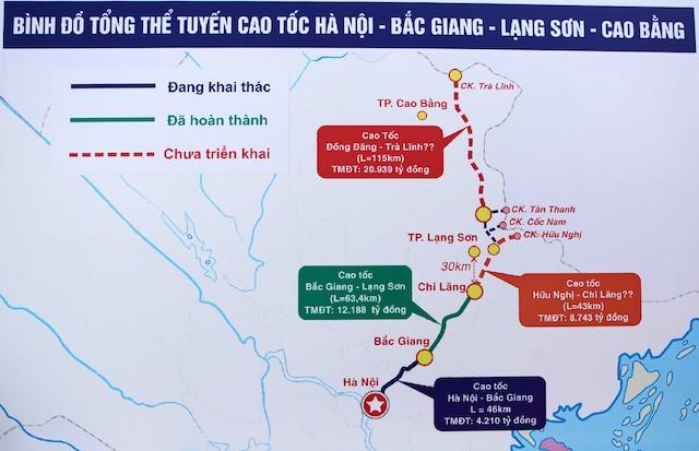 Thủ tướng phê duyệt chủ trương đầu tư dự án cao tốc Trà Lĩnh - Đồng Đăng gần 21.000 tỷ đồng - Ảnh 1.