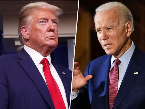 """Bầu cử Mỹ vào giai đoạn """"nước rút"""": Ông Trump và ông Biden tăng tốc - Ảnh 1."""