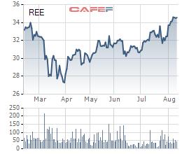 Nhiều lần chào mua bất thành, Platinum Victory vừa nhận chuyển nhượng 2,4 triệu cổ phần REE từ quỹ ngoại khác - Ảnh 1.