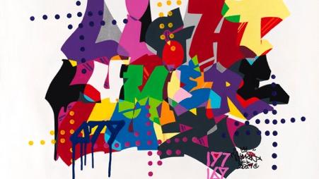 Triển lãm không thể mở cửa vì đại dịch Covid-19, huyền thoại Graffiti gốc Việt chọn cách đặc biệt để công chúng được chiêm ngưỡng và thưởng thức từ xa - Ảnh 3.
