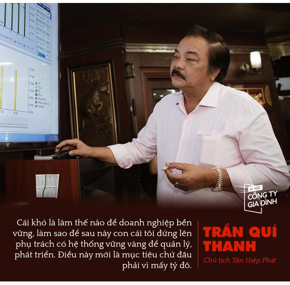 Chủ tịch Tân Hiệp Phát Trần Quí Thanh: Chúng tôi đánh giá nhau có phải họ Trần không, dựa trên bộ giá trị cốt lõi chứ không phải máu mủ - Ảnh 2.
