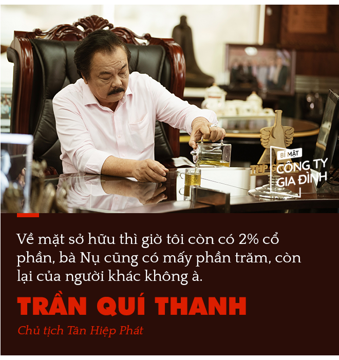 Chủ tịch Tân Hiệp Phát Trần Quí Thanh: Chúng tôi đánh giá nhau có phải họ Trần không, dựa trên bộ giá trị cốt lõi chứ không phải máu mủ - Ảnh 5.