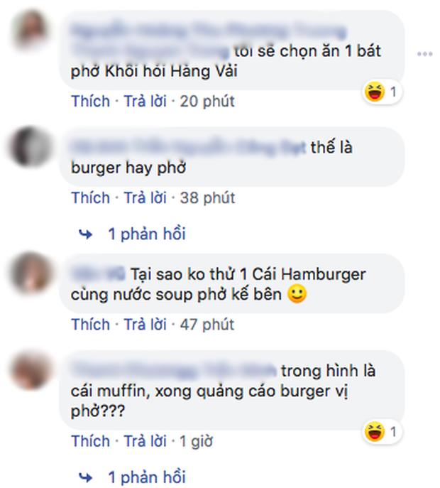 """Ra mắt burger vị phở, McDonald's nhận về """"cơn bão"""" tranh luận từ cư dân mạng: """"Với giá đó ăn được 2 bát phở mà còn ngon hơn"""" - Ảnh 2."""