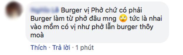 """Ra mắt burger vị phở, McDonald's nhận về """"cơn bão"""" tranh luận từ cư dân mạng: """"Với giá đó ăn được 2 bát phở mà còn ngon hơn"""" - Ảnh 7."""