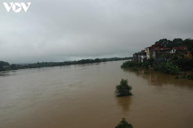 Nhiều tuyến đường TP. Yên Bái thành sông do nước đầu nguồn sông Hồng đổ về - Ảnh 9.