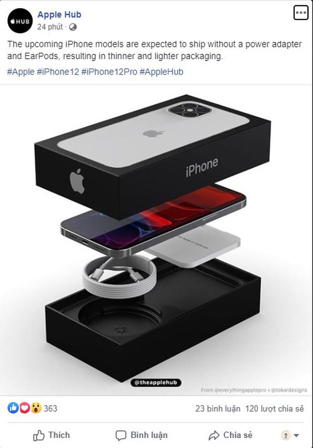 Thêm loạt tin tức mới về iPhone 12, gần như không có củ sạc lẫn tai nghe! - Ảnh 1.