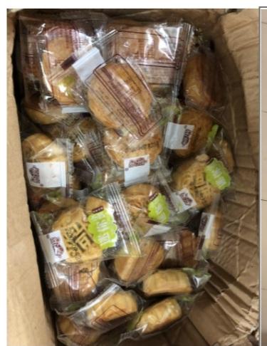 Tạm giữ hàng trăm chiếc bánh trung thu do nước ngoài sản xuất không có hóa đơn chứng từ - Ảnh 1.