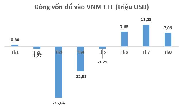VNM ETF hút ròng hơn 7 triệu USD trong tuần giao dịch 17-21/8 - Ảnh 1.