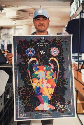 Lần đầu tiên lọt vào chung kết Champions League, PSG ra mắt 50 phiên bản poster đặc biệt để kỷ niệm khoảnh khắc lịch sử này - Ảnh 1.