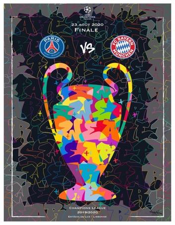 Lần đầu tiên lọt vào chung kết Champions League, PSG ra mắt 50 phiên bản poster đặc biệt để kỷ niệm khoảnh khắc lịch sử này - Ảnh 4.