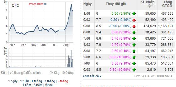 Ngược dòng thị trường, hàng loạt cổ phiếu tăng giá mạnh: Đã có một lỷ lục bị soán ngôi - Ảnh 6.