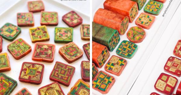 Món bánh siêu cầu kỳ của Malaysia đến thợ chuyên nghiệp còn thấy khó làm: Đẹp không nỡ ăn - Ảnh 1.