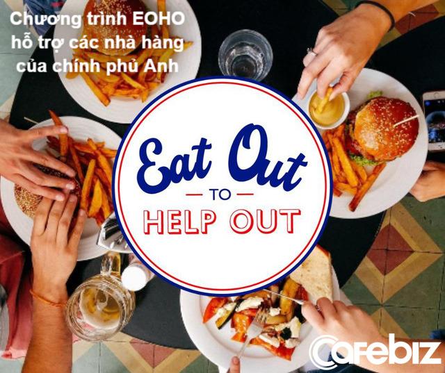 Chính phủ Anh trả 50% hóa đơn cho người dân đi ăn nhà hàng - Ảnh 1.