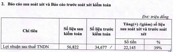 Du lịch Thành Thành Công (VNG) báo lãi ròng tăng 73% sau soát xét - Ảnh 1.