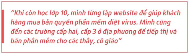 Chân dung Trần Ngọc Thái: Nam sinh Quảng Ngãi lớp 10 đã bán phần mềm diệt virus 'dạo' trở thành CEO startup triệu USD, tăng gấp đôi người dùng trong Covid-19  - Ảnh 2.