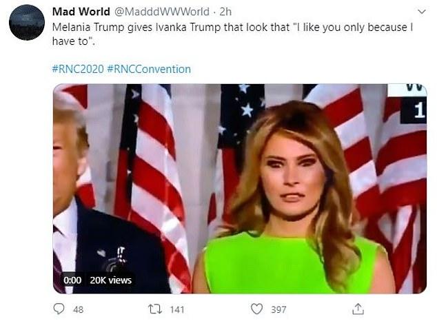 Khoảnh khắc Đệ nhất phu nhân Mỹ biến đổi cảm xúc khi nữ thần Nhà Trắng Ivanka Trump đi qua gây bão cộng đồng mạng - Ảnh 4.